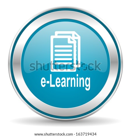 learning icon - stock photo