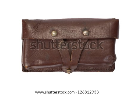leather ammo pouch - bag for ammo