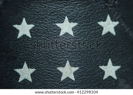 Leather, artificial leather, leather, texture, leather background star. - stock photo