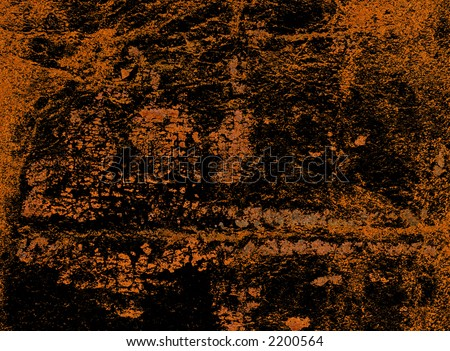 Leather binding of a Bible in close up - stock photo
