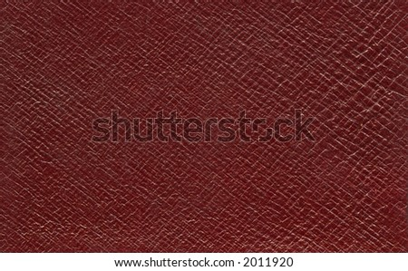 Leather book - stock photo