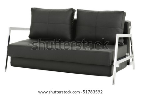 leather couch