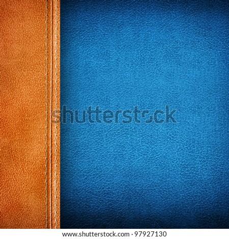 leather pattern background - stock photo