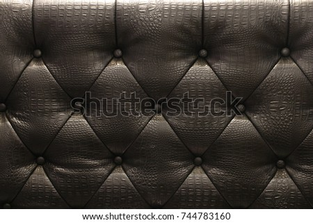 Leather Quilting Button Stock Photo 744783166 - Shutterstock : leather quilting - Adamdwight.com
