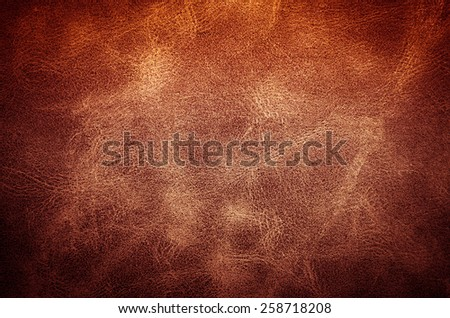 Leather texture and background - stock photo
