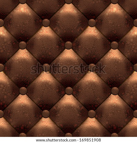 Leather texture background, seamless pattern, raster graphics.