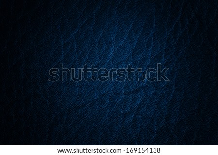 leather texture blue dark - stock photo