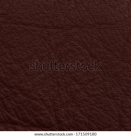 Leather texture closeup macro shot for background - stock photo