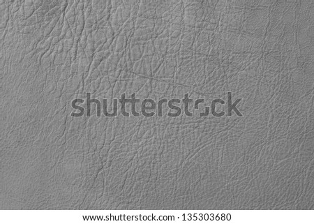 leather texture grey - stock photo