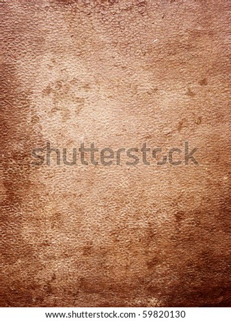 Leather texture (gunge background) - stock photo