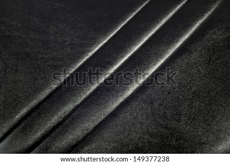 leather texture or background in black