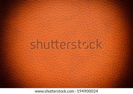 leather texture, orange background skin  - stock photo