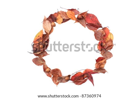 Leaves a message on - stock photo