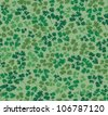 leaves seamless background with the leaves of parsley. Floral pattern. - stock photo