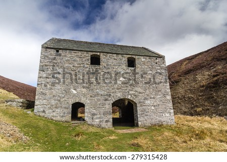 Lecht Mine, Scotland. Originally opened as an iron ore mine in 1730 - stock photo
