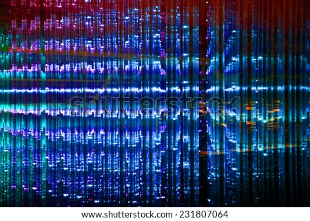 LED Abstract background - stock photo