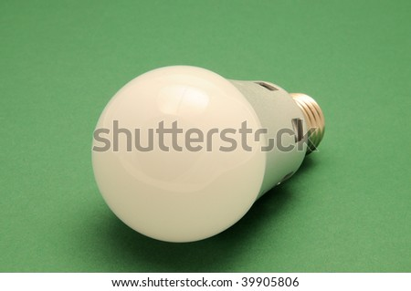 LED light bulb technology - stock photo