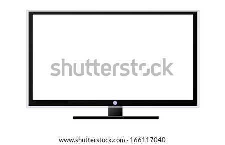 Led or Lcd TV - stock photo