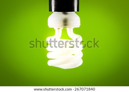Led, saver, fuel. - stock photo