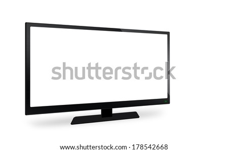 LED television on isolate