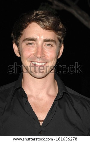 Lee Pace at ABC Sneak Peek of PUSHING DAISIES, Hollywood Forever Cemetery, Los Angeles, CA, August 16, 2007