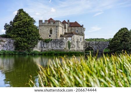 Leed's castle - stock photo