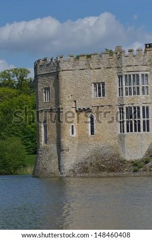 leeds castle, England - stock photo
