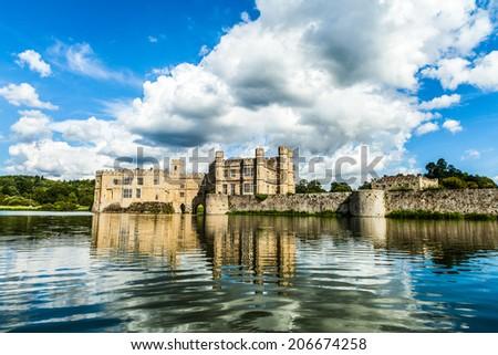 Leeds' Castle (England)  - stock photo