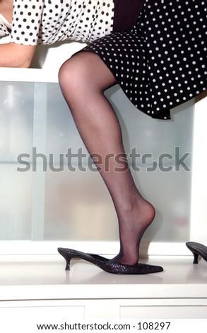 leg - stock photo