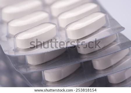 Legal Drugs studio shot, medicine. - stock photo