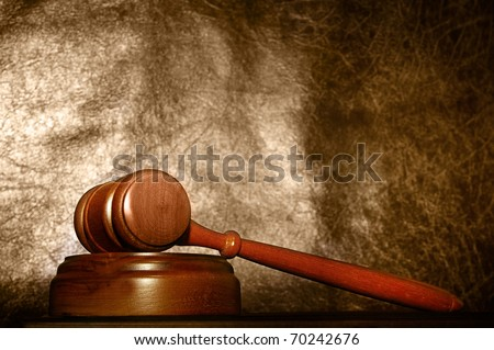 legal gavel - stock photo