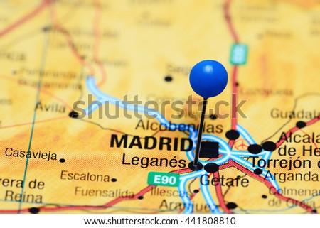 Leganes Stock Images RoyaltyFree Images Vectors Shutterstock - Leganés map