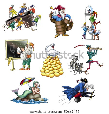 Legends and fairy tales_1 - stock photo