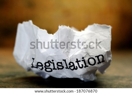 Legislation - stock photo