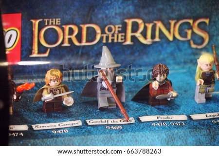 Lego Lord Of The Rings Silver Bricks