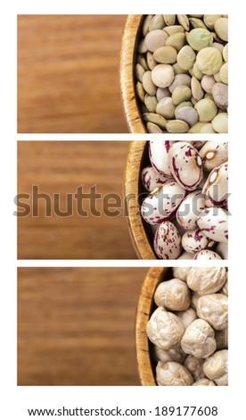 Leguminous crops - stock photo