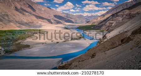 Leh, Ladakh, India. - stock photo