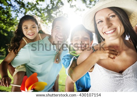 Leisure Holiday Vacation Family Parent Together Concept
