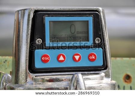 LEL gas detector - stock photo