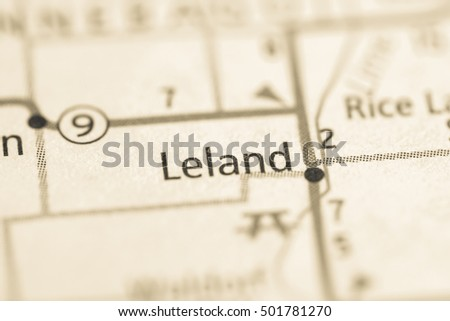 Leland. Iowa. USA.