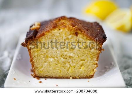 Lemon loaf  - stock photo