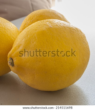 lemon raw - stock photo