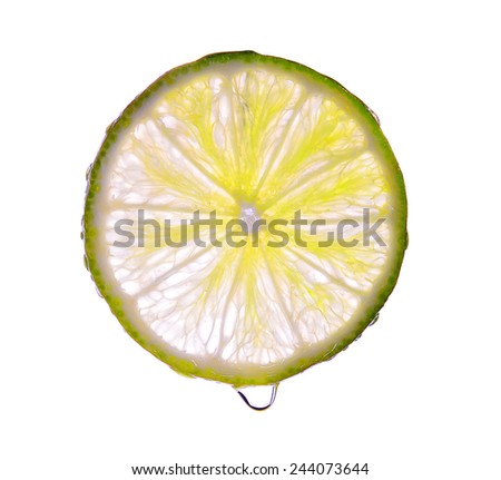 lemon, slice, fruit, skin,  closeup, tropics, natural,   diet, drink, lime, vitamin c, sour,  vitamin, lemon slice isolated, cut, close, inside, fruity,  juice, ingredient, fresh, health, nature, food - stock photo