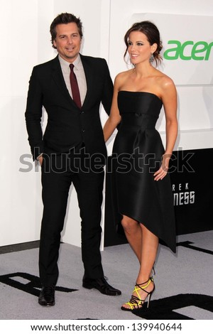 "Len Wiseman, Kate Beckinsale  at the ""Star Trek Into Darkness"" Los Angeles Premiere, Dolby Theater, Hollywood, CA 05-14-13"