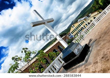 Lencois City, Chapada Diamantina, Brazil - stock photo