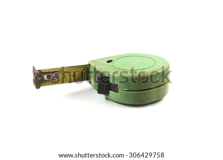 Length measuring devices - stock photo