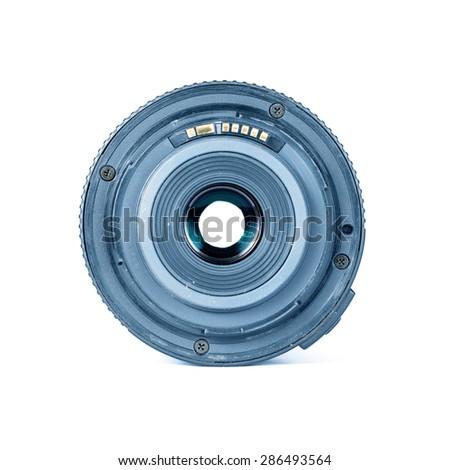 Lens Digital Camera .Behind the Lens Digital Camera - stock photo