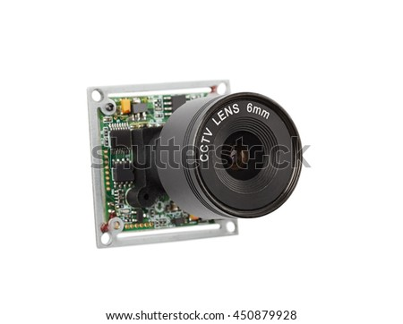 Lens for security video cameras, security systems
