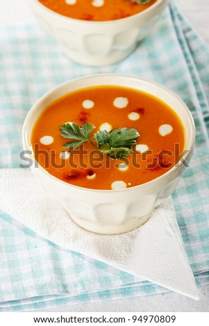Lentil cream soup Stock Photos, Images, & Pictures | Shutterstock