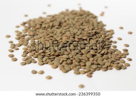 Lentils beans - stock photo